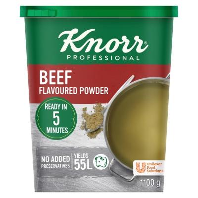 Knorr Beef Flavoured Powder (6x1.1kg) -