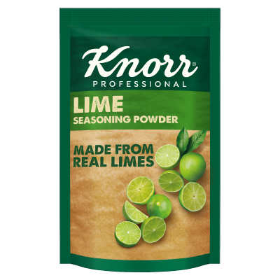 Knorr Lime Seasoning (12x400g) - Knorr Lime Seasoning is made from real limes for consistent sourness and aroma