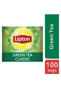 Lipton Green Tea (12x100 teabags) - Lipton Green Tea helps in digestion and increases focus