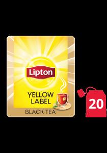 Lipton Yellow Label Black (16x20 teabags) - Lipton knows how to create that